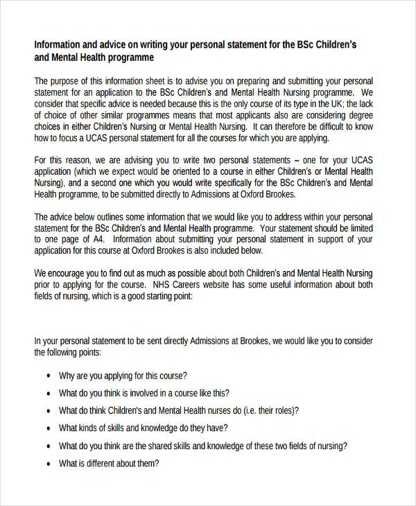 mental health nursing cv examples uk