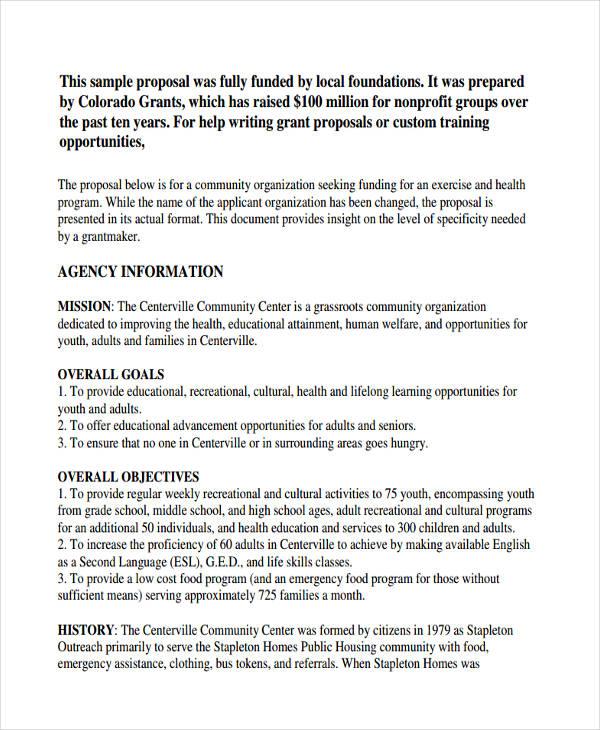Funding Proposal Template Solarfm
