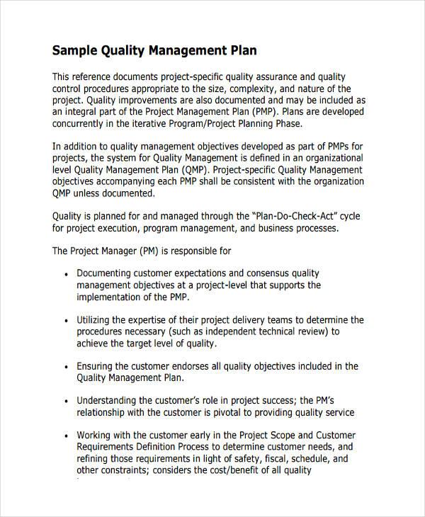 sample management plan template   datariouruguay
