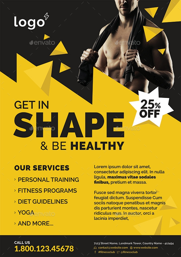 Free Fitness Boot Camp Flyer Templates Amp Marketing Tips