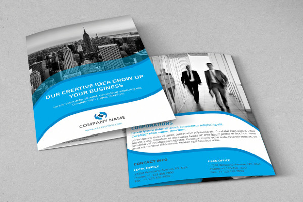 Advertising Company Profile Brochure