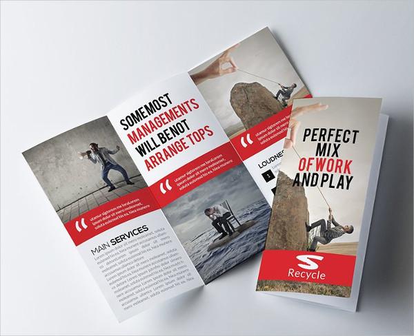Advertising Business Tri Fold Brochure