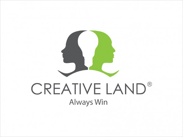 123Advertising Company Logo Vector