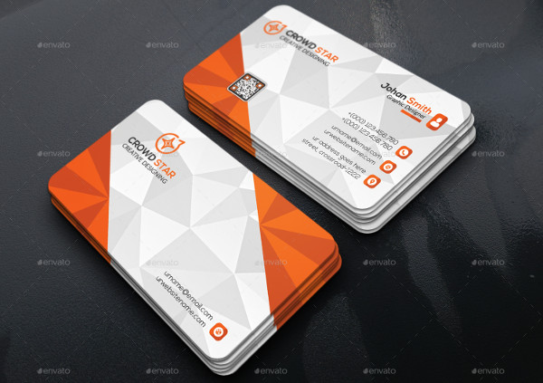 3d corporate business card