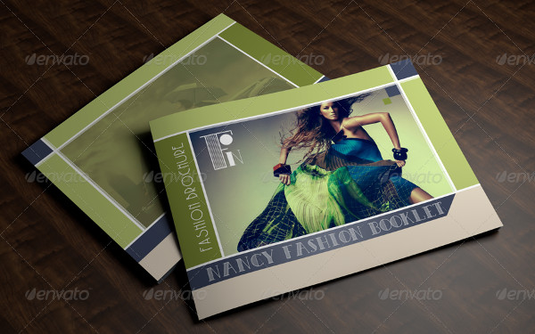 a5 fashion advertising brochure