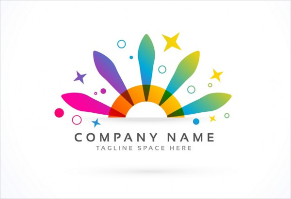 abstract corporate event logo