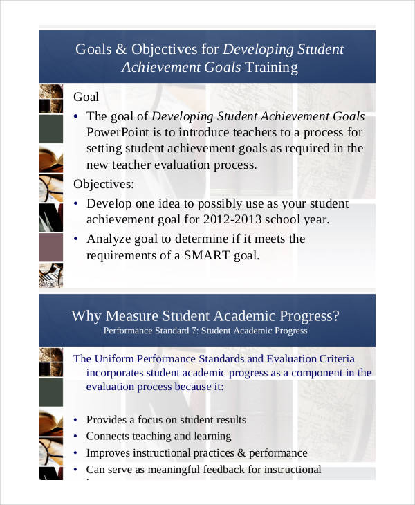 academic achievement smart goals