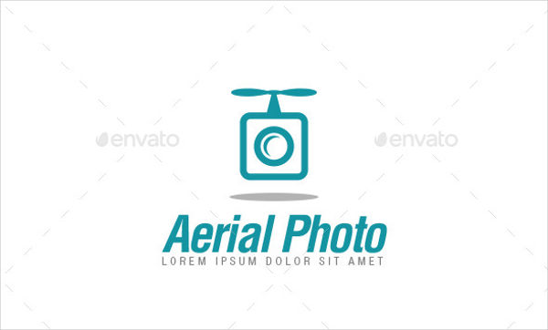 Aerial Photography PSD Logo