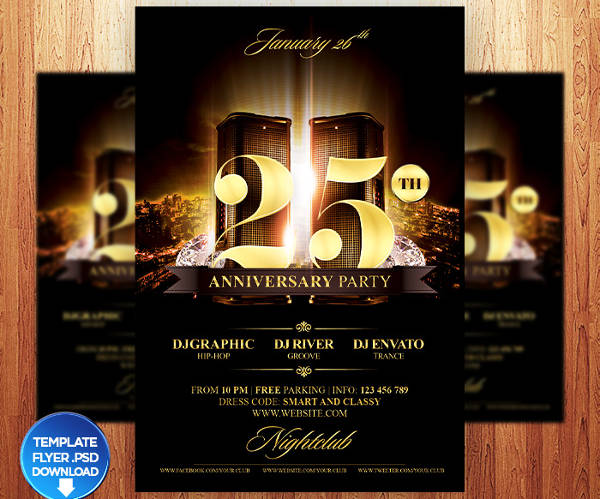 37 Examples Invitation Flyers – Party Invitation Flyer
