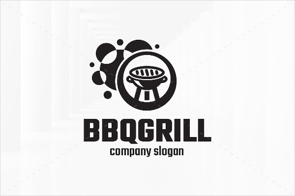 BBQ Restaurant Business Logo
