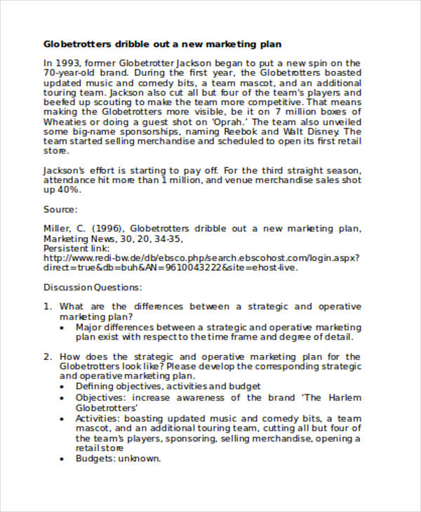 Beauty Product Marketing Plan  Marketing Proposal Letter
