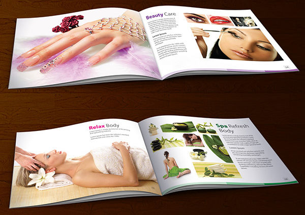 -Beauty Salon Brochure