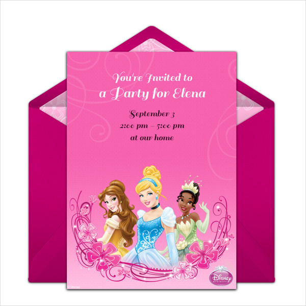 birthday party invitation envelope1