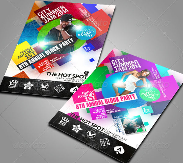 Party Flyer Designs  Examples  Psd Ai Eps Vector