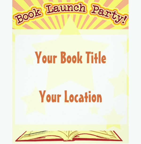 book lunch event invitation