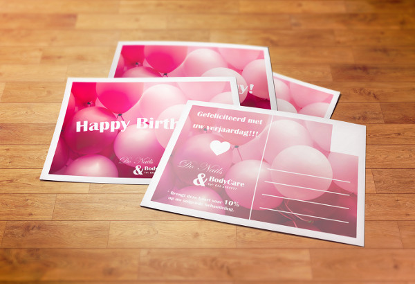 -Branding Business Birthday Card