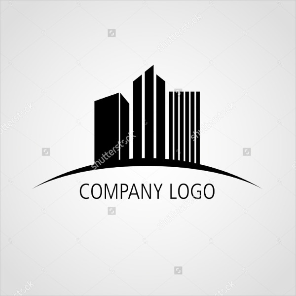 building construction company logo