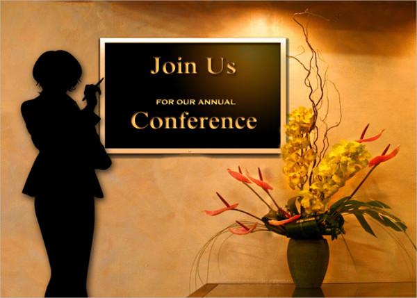 business annual conference invitation