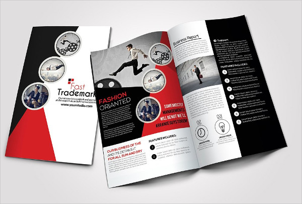 -Business Bi Fold Brochure