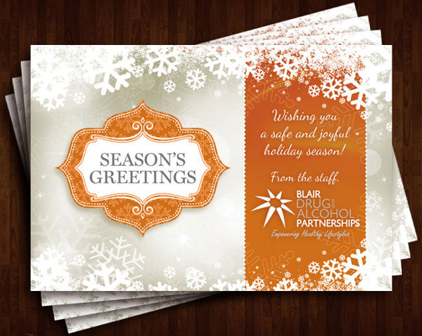 -Business Holiday Greeting Card