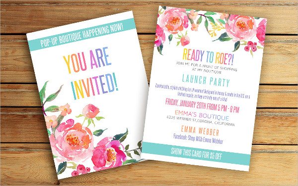 23business invitation designs examples psd ai vector eps business lunch party invitation stopboris Image collections