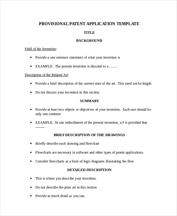 business model patent application
