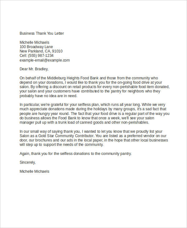 formal business letter examples 54 formal letter examples and samples pdf doc examples 8766