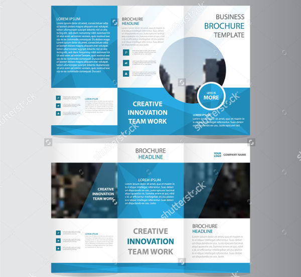 Examples Of Advertising Brochures Design  Psd Ai Vector Eps