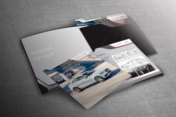 car presentation brochure