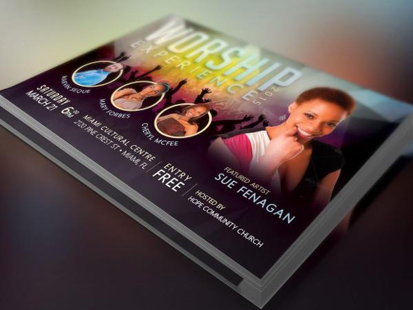 -Church Event PSD Flyer