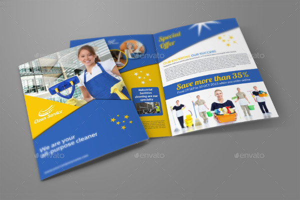 -Cleaning Company Brochure