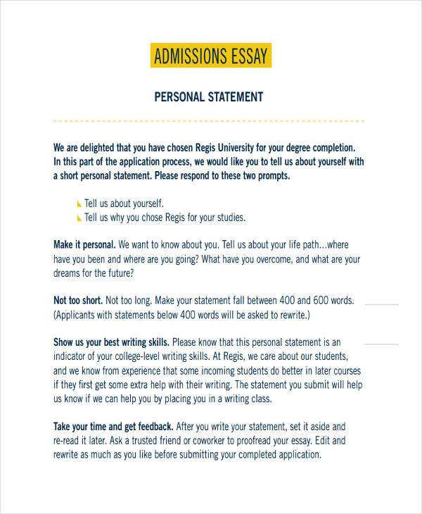 personal essay samples for college admissions The nursing school essay: application tips for accelerated nursing programs.