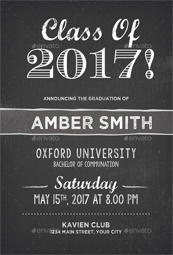 college graduation party invitation2