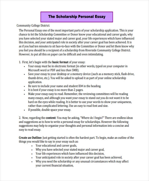 write scholarship essay format These scholarship essay examples are provided for insight on how to write a scholarship essay scholarship essay example 1 addresses the following question: choose a.