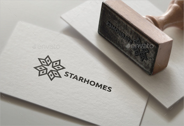 Construction Business Card Logo