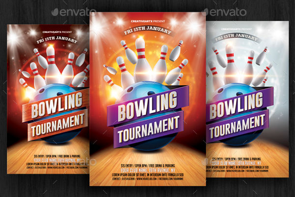 corporate bowling event invitation