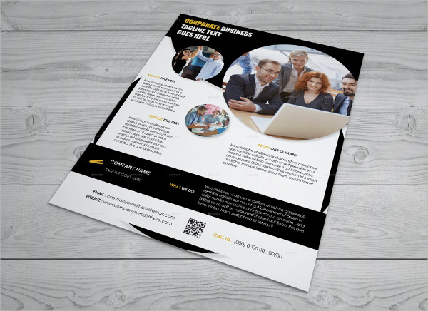 corporate business indesign flyer
