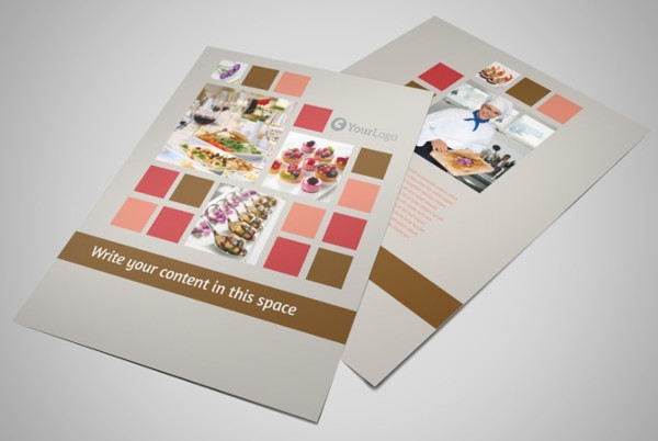 corporate event planner flyer