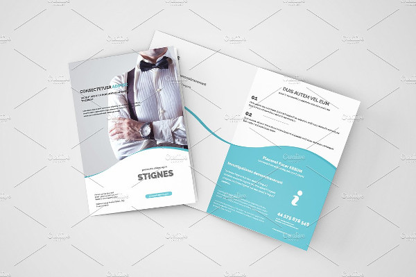 corporate minimal business brochure