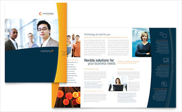 corporate training company brochure