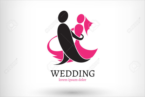 corporate wedding vector logo