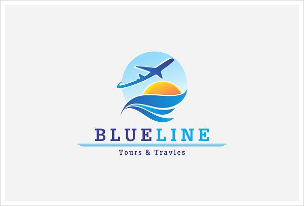 creative corporate travel logo