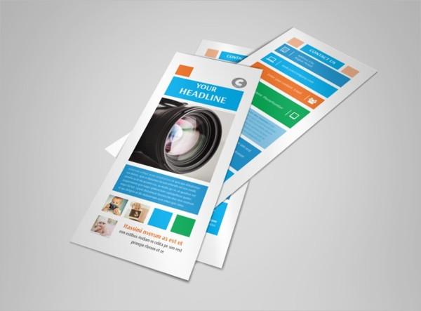 creative family photography flyer