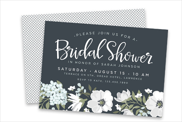 creative homemade bridal shower invitation