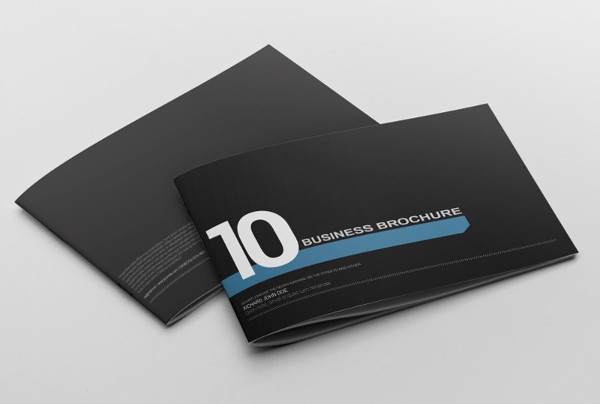 creative landscape business brochure