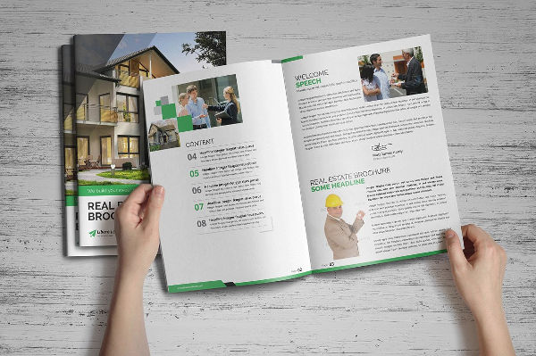 creative real estate portfolio brochure