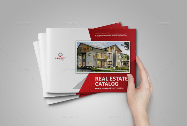 creative real estate property brochure