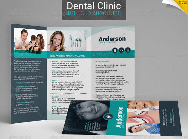 dental clinic brochure