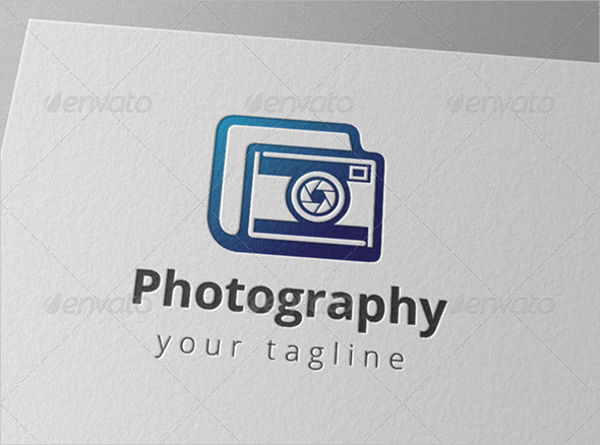 Digital Camera Photography Logo