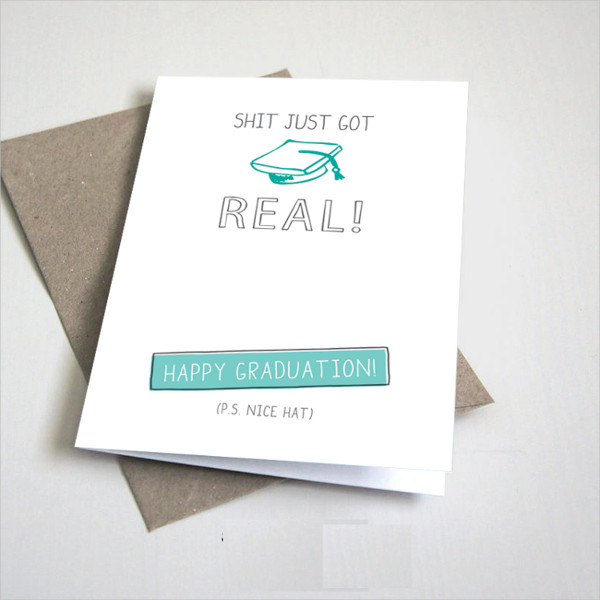 diy graduation greeting card